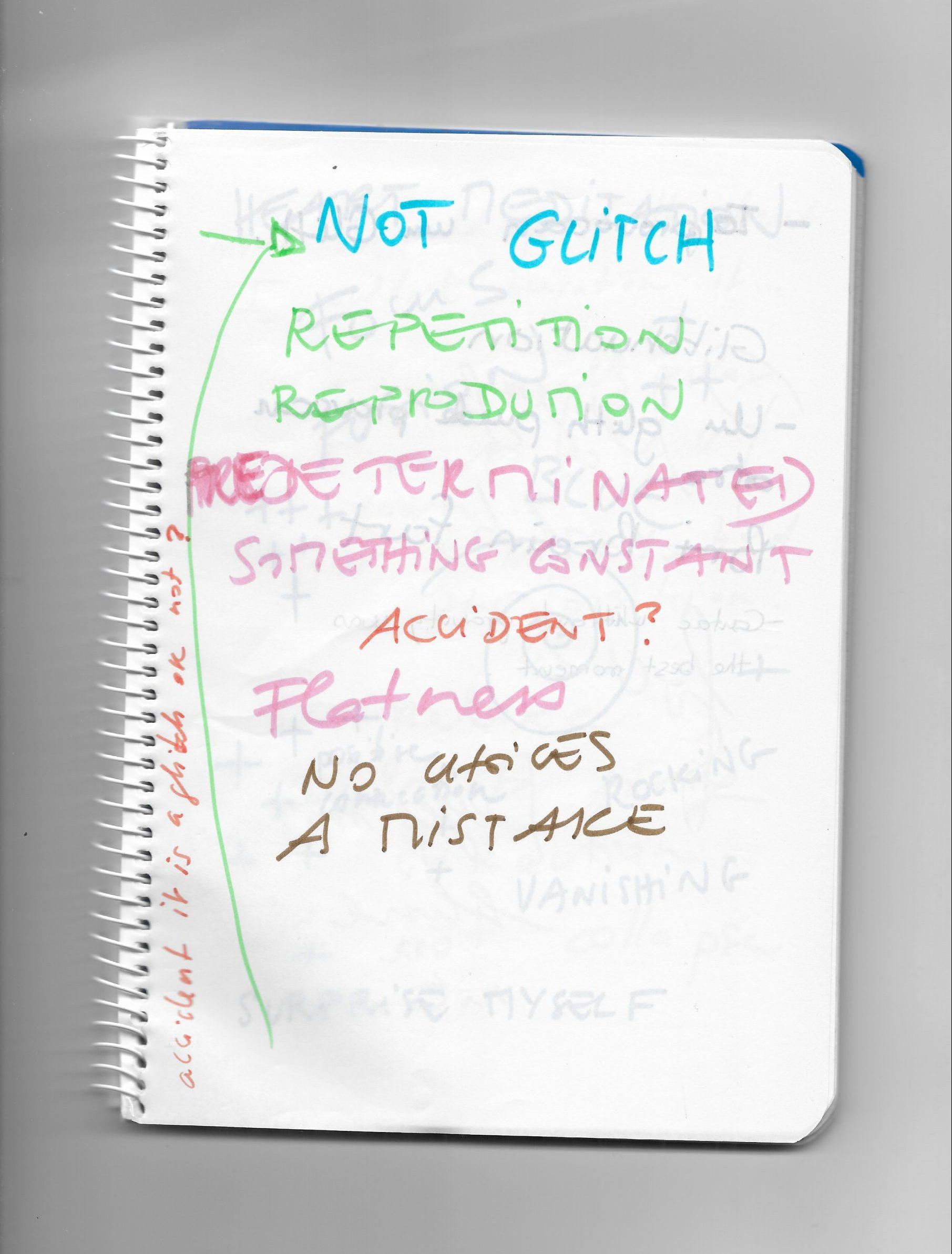 Notes Glitch 2
